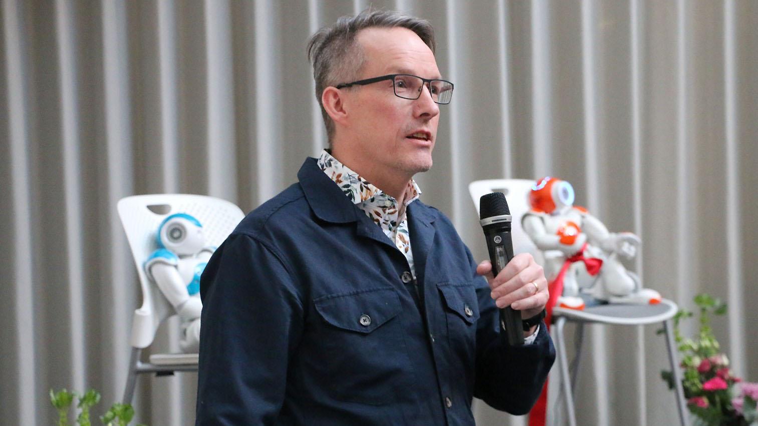 Magnus Rudehäll, digital strateg, Region Västerbotten.