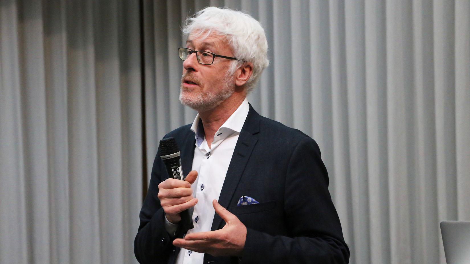 Clas Ahlm, forsknings- och utvecklingsdirektör, Region Västerbotten.