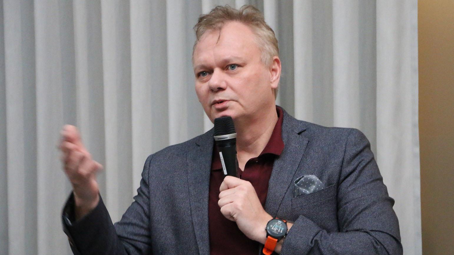 Kenneth Bodin, vd Algoryx och drivande för Digitech, Västerbottens handelskammare.