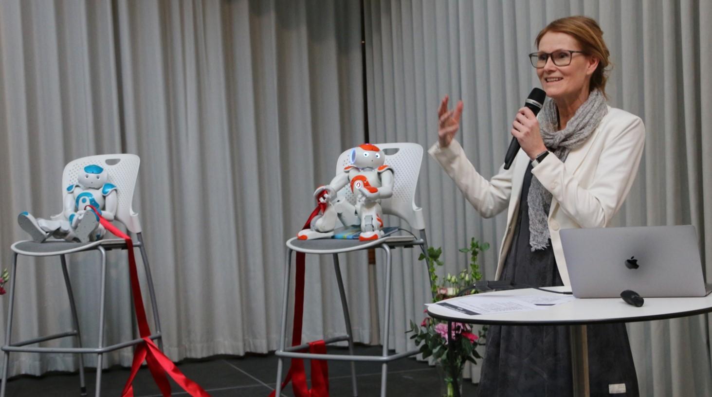 Helena Lindgren, professor, Datavetenskap, Umeå universitet.