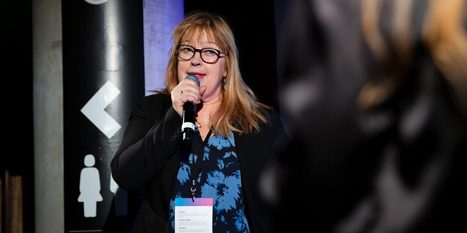 Helena Fordell, forskare och grundare av Brain Stimulation, berättade om forskningsbolagets tillväxt.