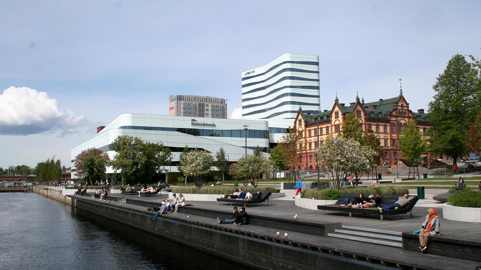 Umeå en av Europas framstående innovationsstäder. Foto: Sara Stenberg.