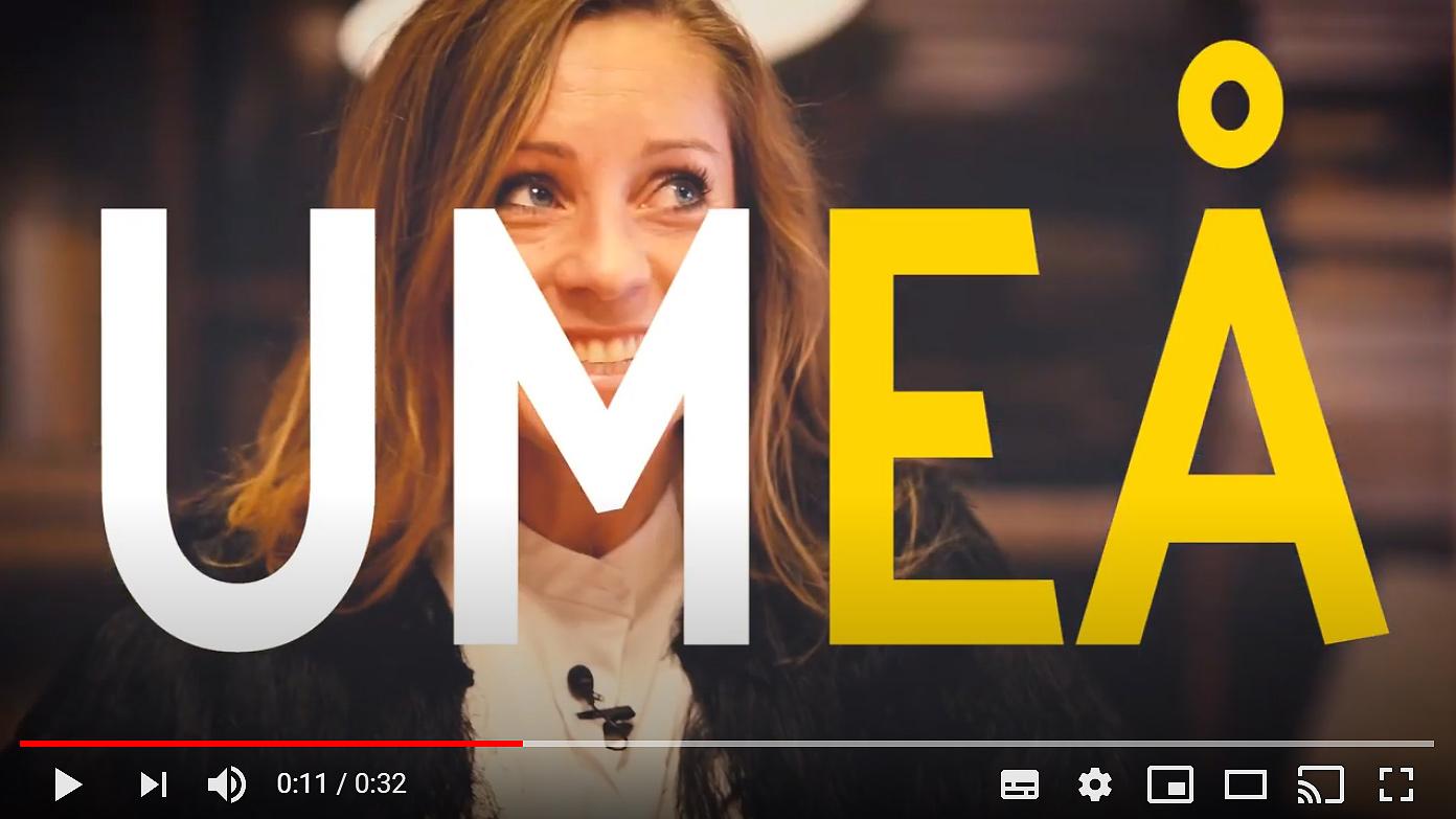 Umeås styrkor som startupstad visas upp i ny film.
