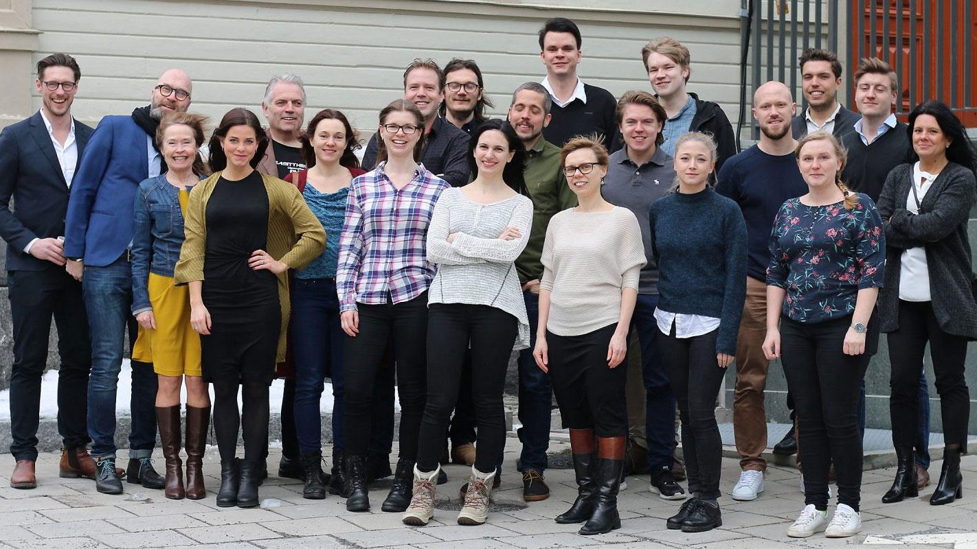Umeås många starka startupbolag bidrar till regionens utveckling. På bilden syns deltagare från Uminova Innovations startupprogram 2018. Foto: Mikael Hansson.