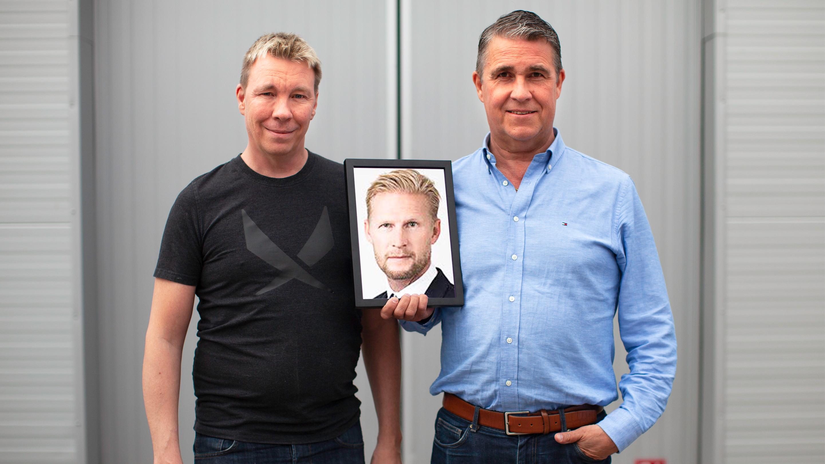 Joachim Ljungquist, driver tillsammans med Fredric Edin och Peter Olausson bolaget bakom idén till digital lås. 100 000 kronor i vinst och en biljett till Sverigefinalen ger deras arbete i Venture Cup Nords tävling.