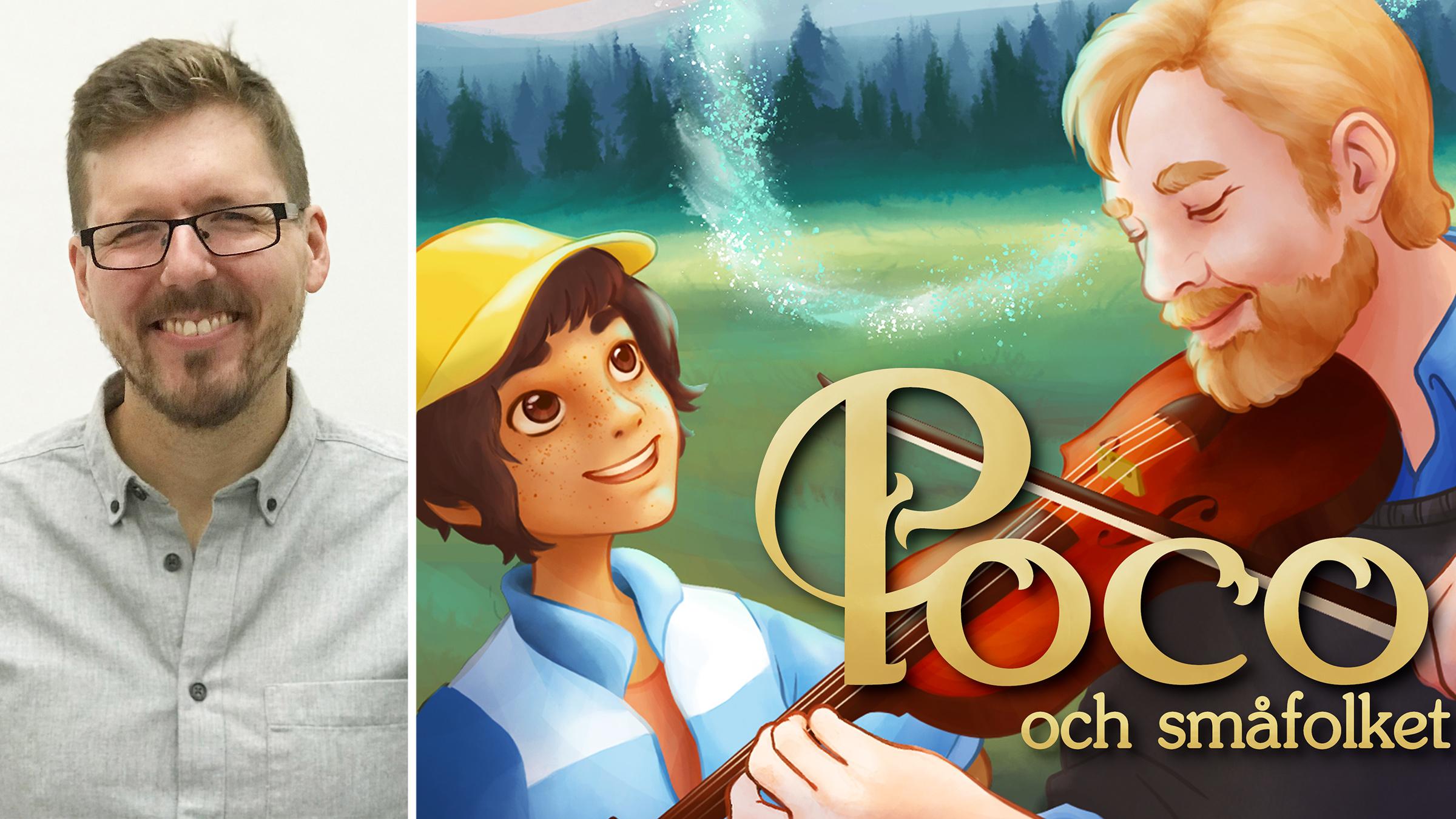 Per Fransson är grundare av Musikmedel.se som lanserar det digitala läromedlet Poco och småfolket.