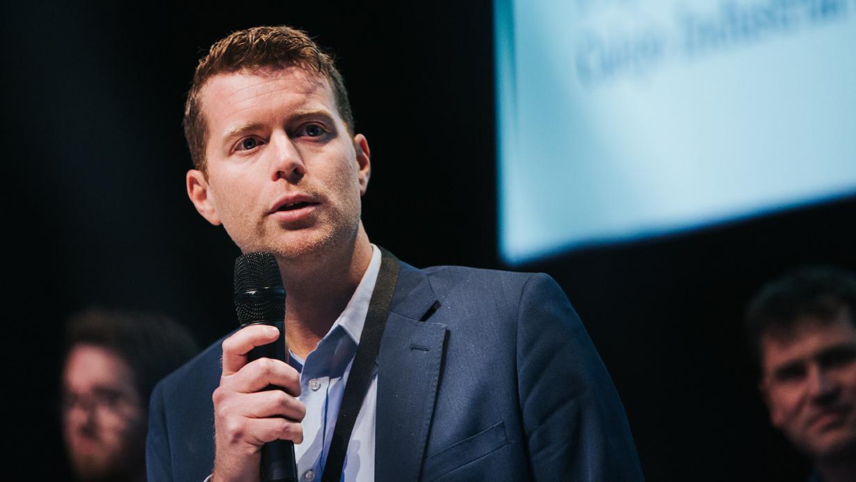 Johannes Holmberg, vd för Calejo, är en av deltagarna i AI-projektet för vatten och avlopp.