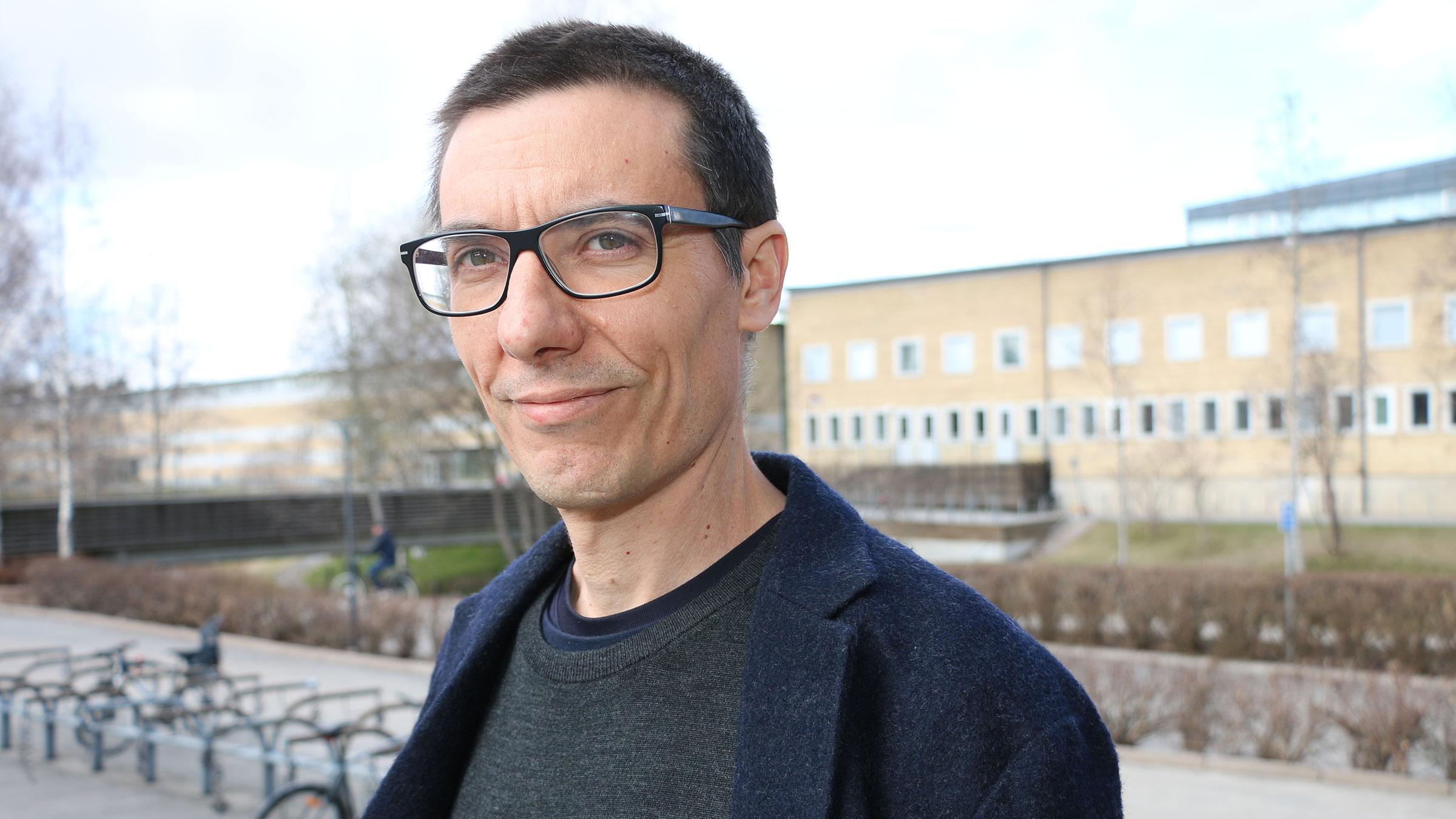 Vicenç Torra är ny professor vid Umeå universitet inom AI och dataskydd.