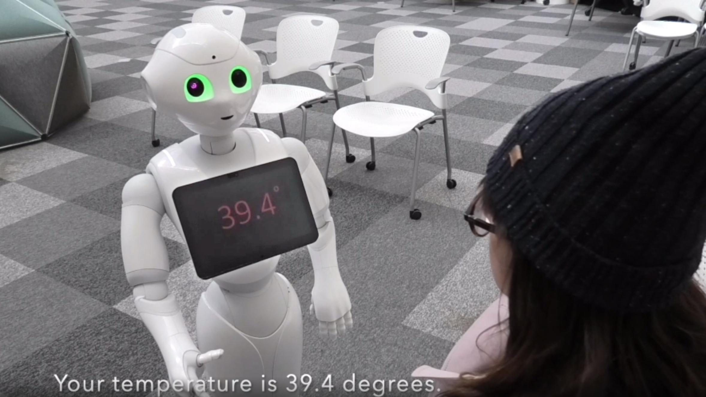 Robot RETHRO för hälsovård.