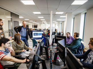 Spelinriktningen på Teknikcolleges fjärde år kommer att bedrivas på Boden Gamecamp på Boden Business Park. Foto: Mats Engfors/Fotographic