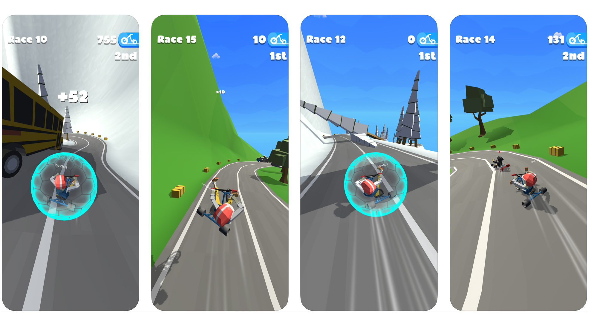 Mobilspelet TrikeDrift släpps i USA av Invictus, ett helägt dotterbolag till Zordix.