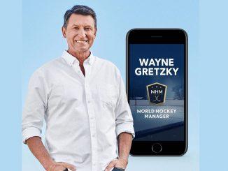 Hockeylegenden Wayne Gretzky är ambassadör för spel från Skellefteåföretaget Gold Town Games.