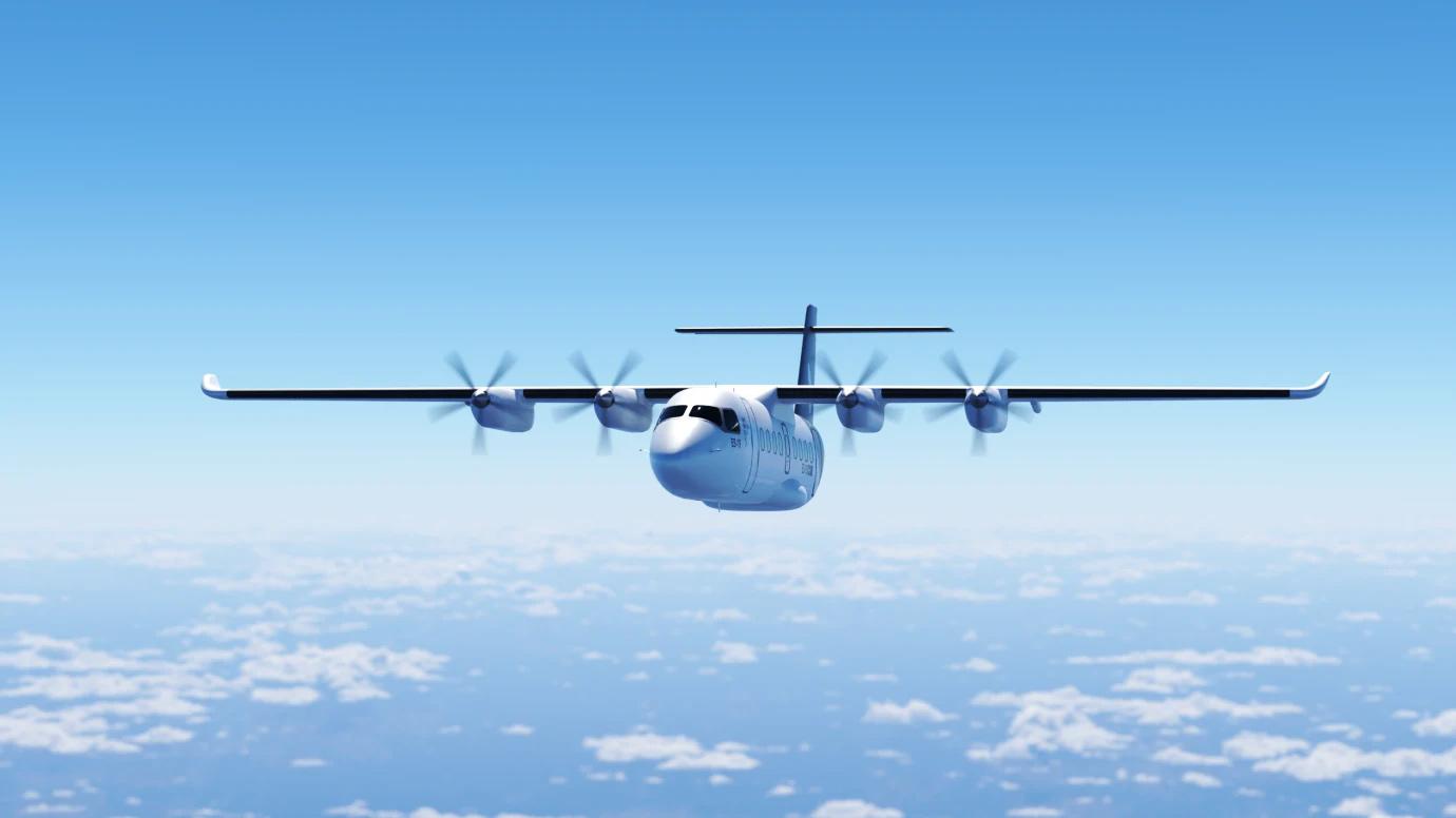 Bild från Heart Aerospace, ett av de bolag som finns med i satsningen på elflyg.