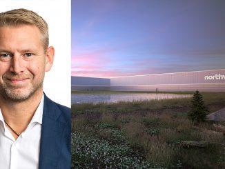 Momentet för elektrifiering är starkare än någonsin, säger Peter Carlsson, vd för Northvolt. Foto och illustration: Northvolt.