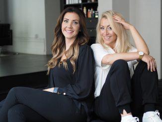 Elin SJöström och My Hillörn på Voady är glada över att deras digitala plattform för frisör- och skönhetssalonger får investering av Fort Knox.