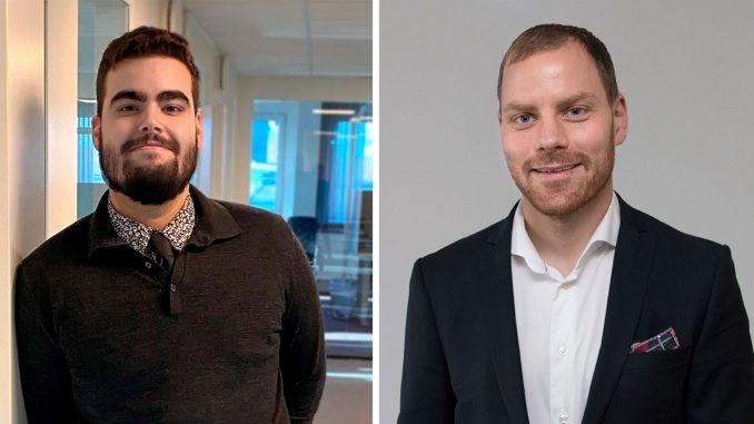Erik Sharifi Norrman, Solutions Engineer på Acon tillsammans med Robert Winter, VD på Elastisys