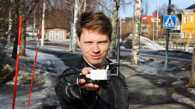 Bild på Fredrik Sahl, grundare av Flow Below