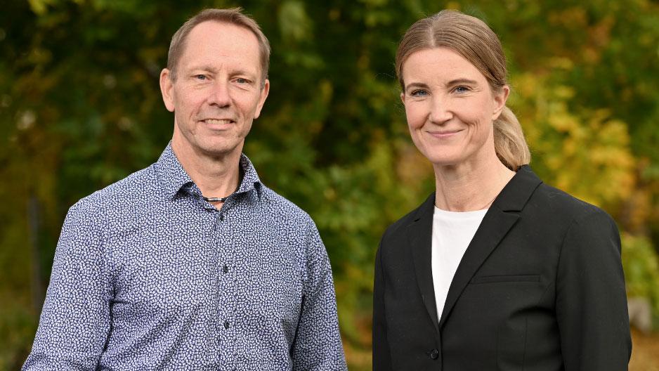 vice VD, Patrik Jonsson, och vår nya CFO, Karin Bergner.