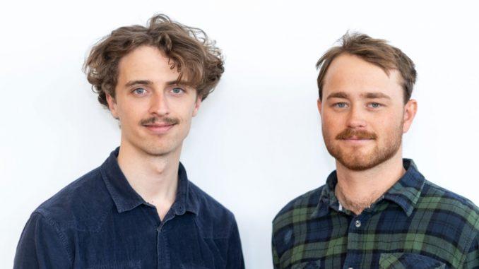 Grundarna till Plocka, Albin Nyström och Axel Ljudén.