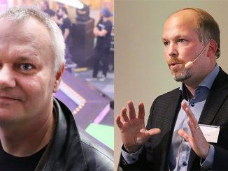 Kenneth Bodin och Johan Trygg.