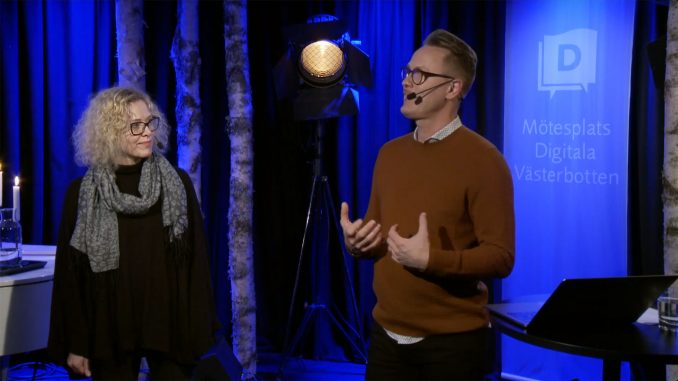 Janet Ågren och Andreas Skog