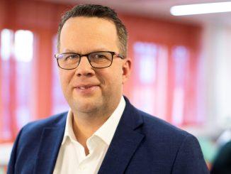 Porträtt på Martin Linder, ordförande i fackförbundet Unionen