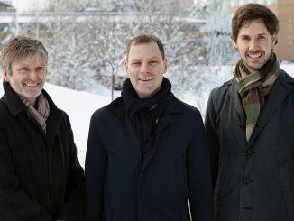 Erik Elmroth, grundare, Robert Winter, VD och Johan Tordsson, grundare och CTO.