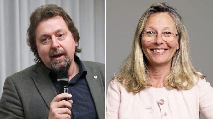 Göran Ståhl och Maria Hedblom