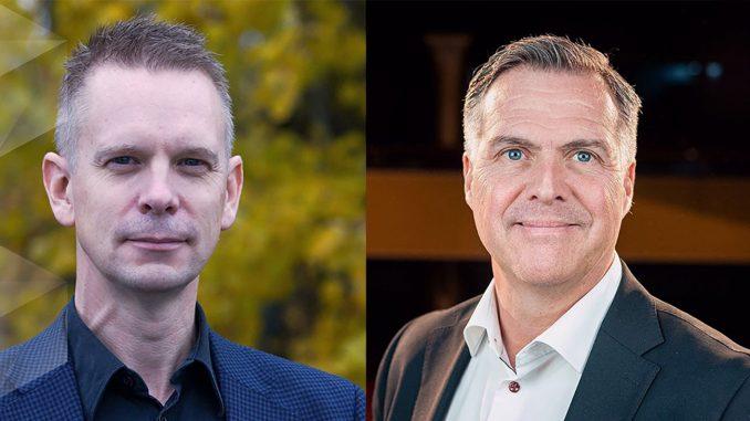 Niklas Tiger och Tomas Wanselius