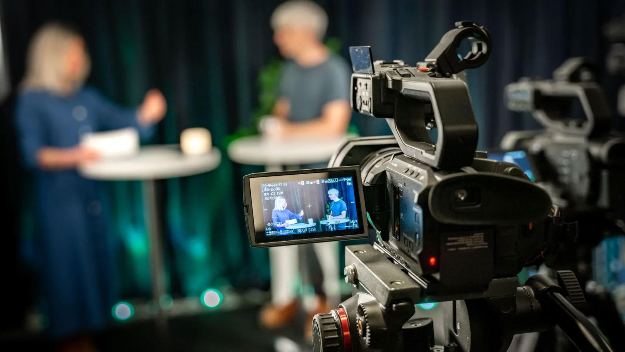 Digitalt möte med kamera