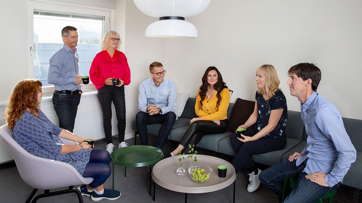 Medarbetare Umeå Biotech Incubator, Foto: Malin Grönborg.