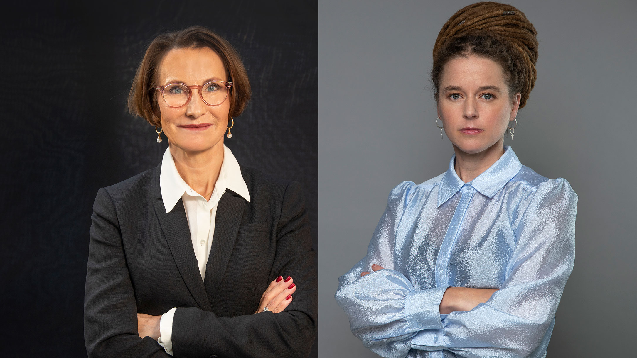 manda Lind, Sveriges Kultur- och demokratiminister Pia Sandvik, VD, Research Institutes of Sweden, RISE