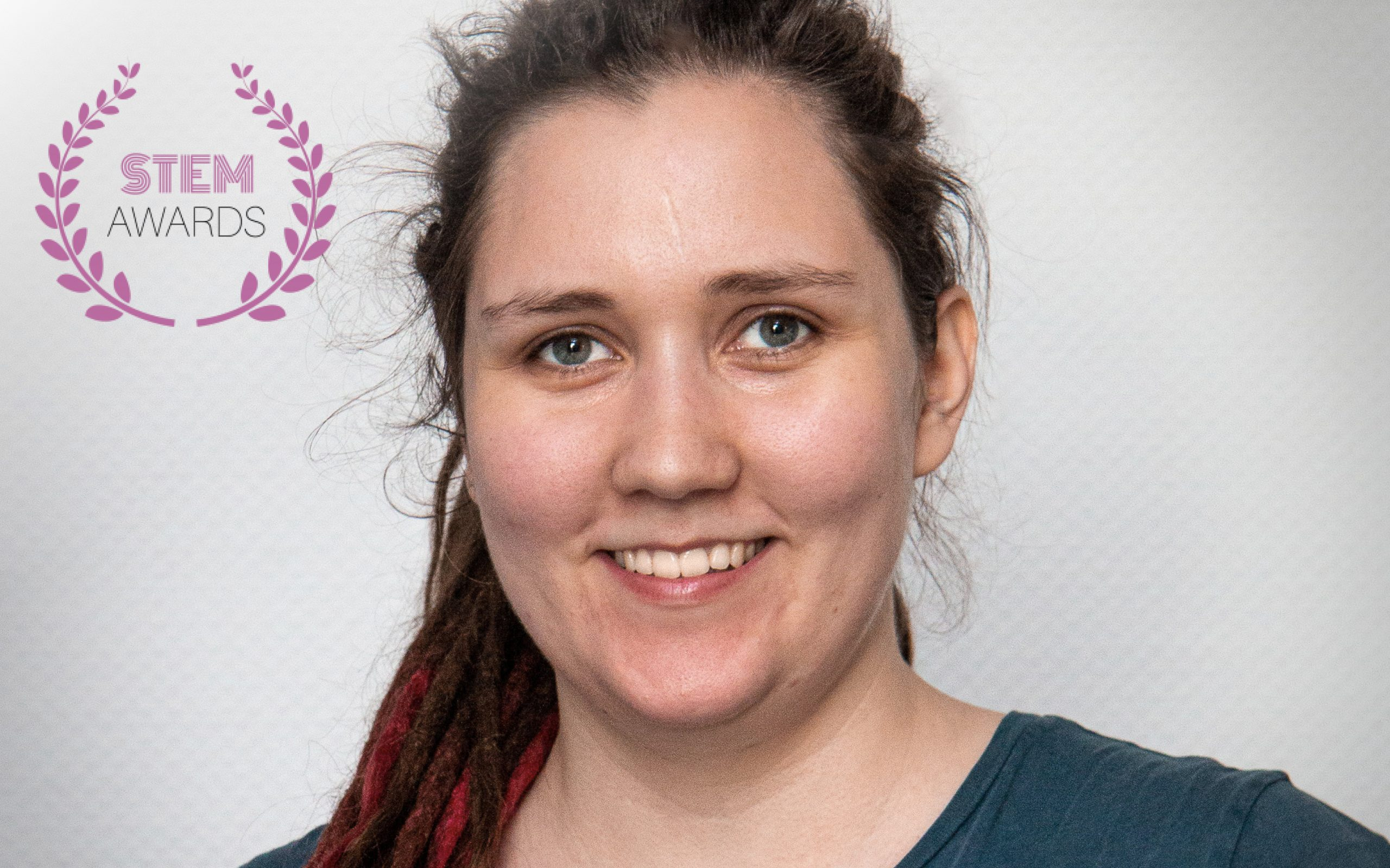 Porträttbild på Adna Bliek, vinnare av women's STEM awards.